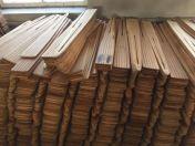 Kailių džiovinimo lentos medinės, naudotos