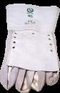 Protection anti-bite glove, white