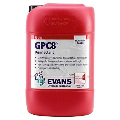 EVANS GPC8 25l (skystis) dezinfekcinė priemonė