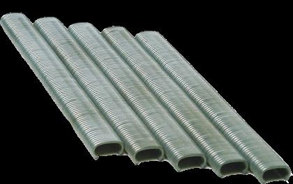Klipsai automatiniai nerūdijančio plieno 18000vnt