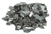 Wide clips (Flat clips) for cages